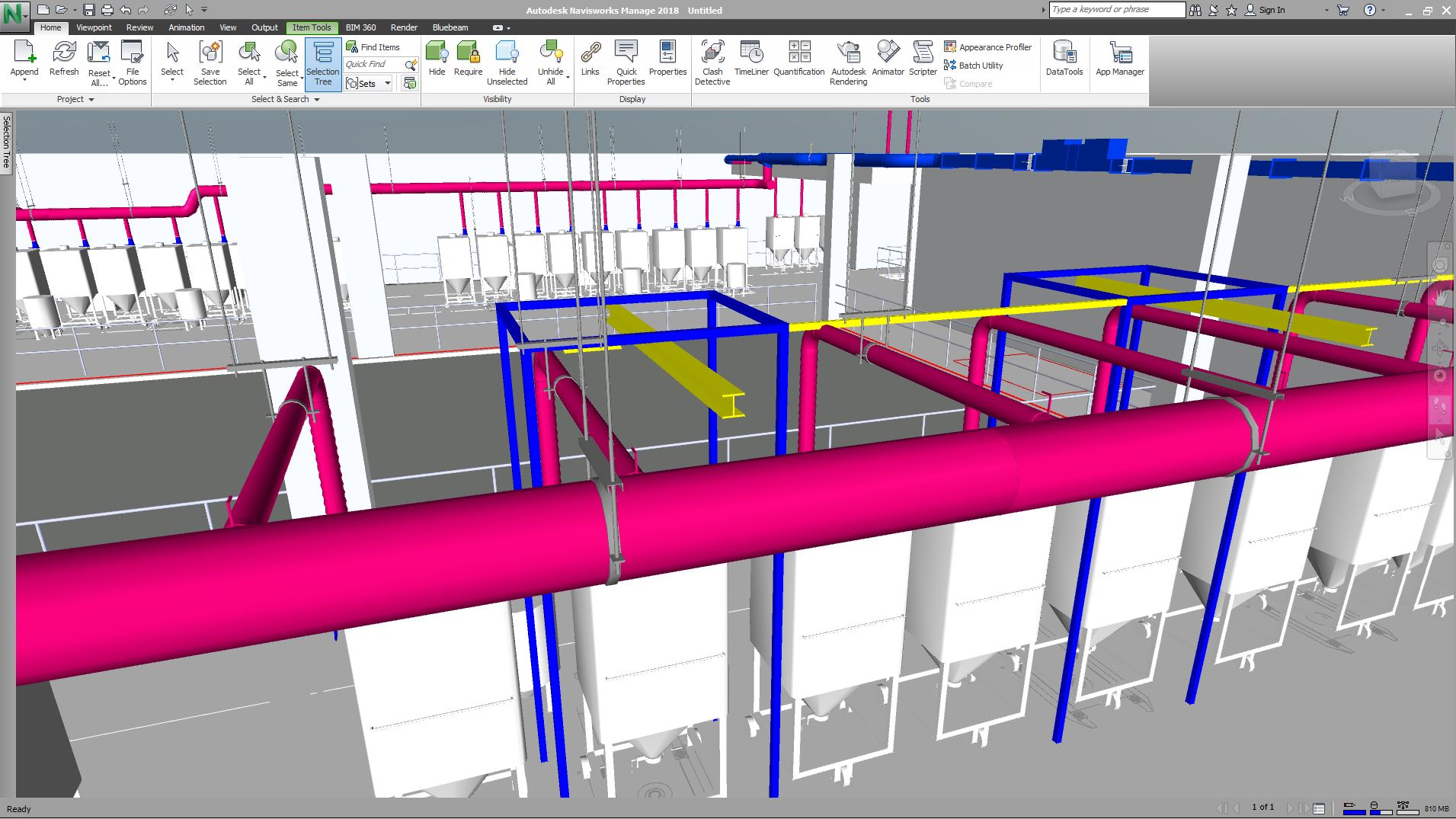 Building Information Modeling Bim For Commercial Hvac And Plumbing Drawing In Autocad